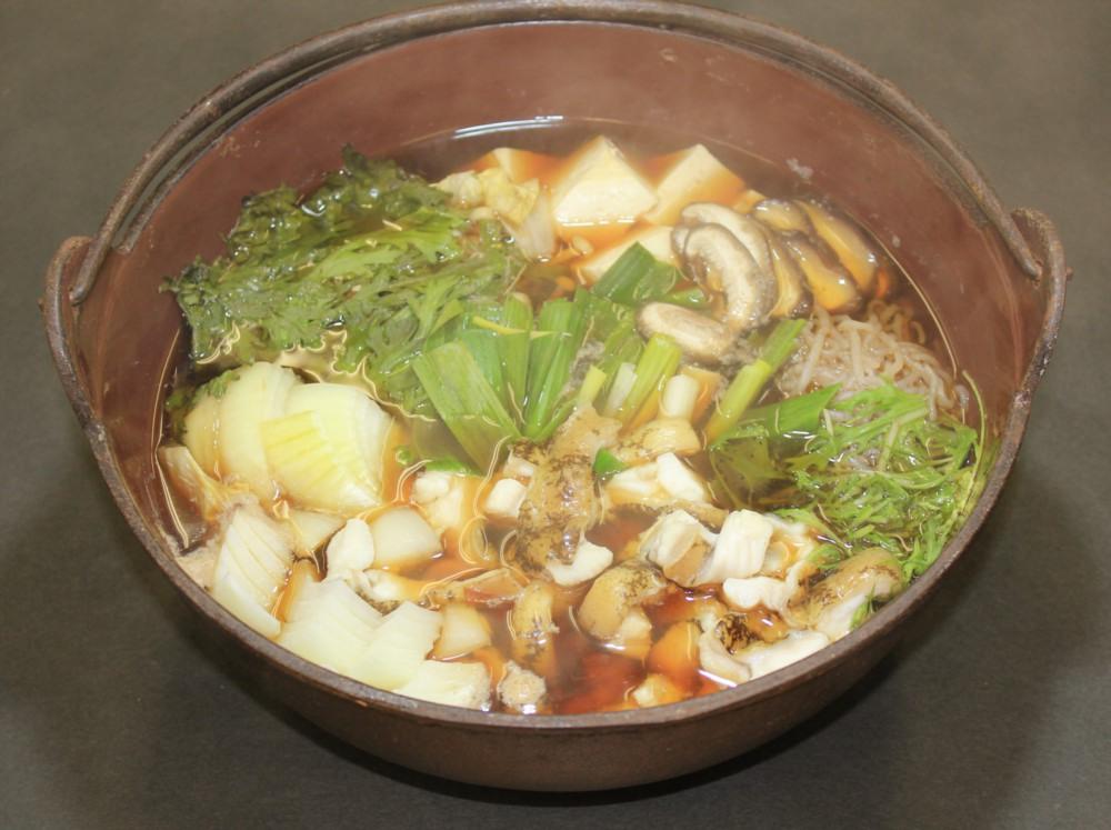 喜楽料理写真(うつぼのすき焼き)